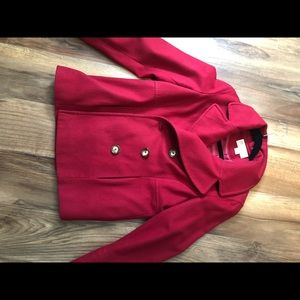 Red Michael by Michael Kors Peacot